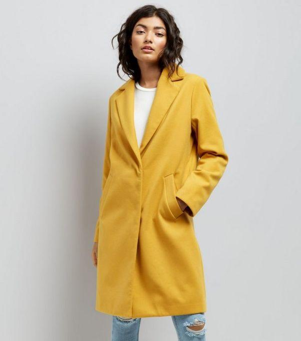yellow-longline-collared-coat